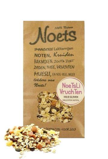 Mueslimix met vruchten van Noets, Noetsli!